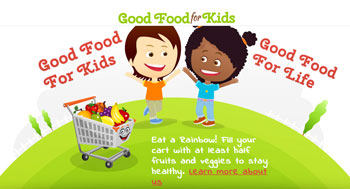 Good Food For Kids is a Kody O'Bear endorsed kid friendly website