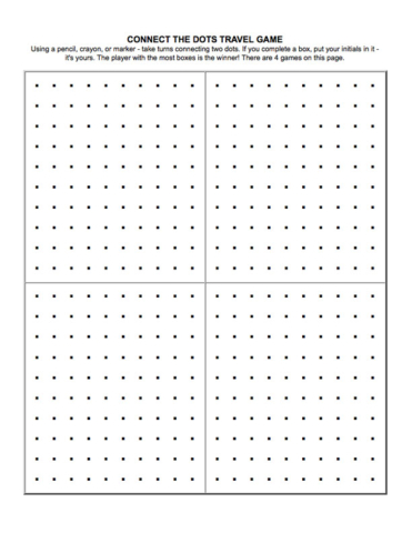 Connect the Dots Game for Children