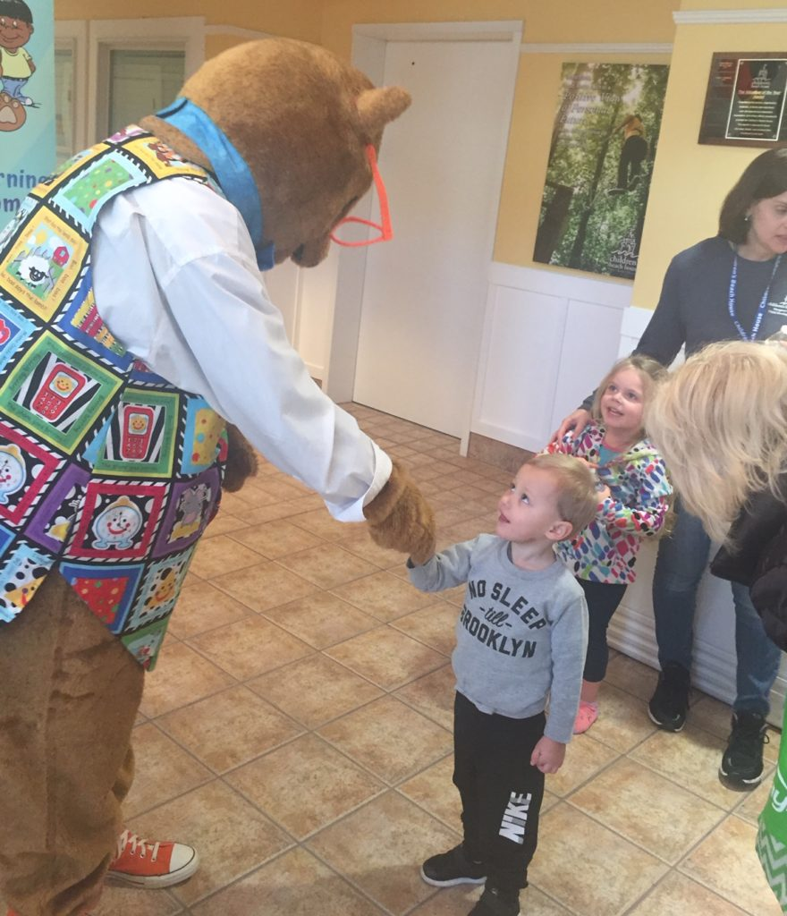 Kody made guest appearance at the Children's Beach Healthy Fair, Lewes, Delaware Oct 2019