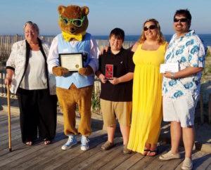 Jaxon Renshaw is the 2017 Kody O'Bear Community Youth Award Recipient