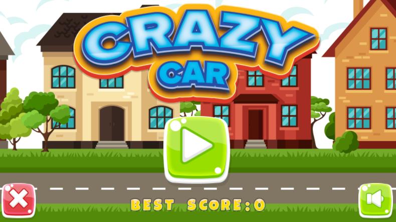 Play Crazy Car by SafeKidGames.com