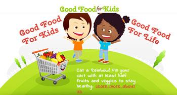 Good Food For Kids is a Kody O'Bear endorsed kid friendly website